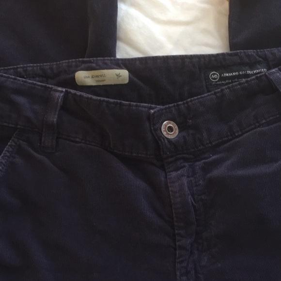 448a7abd1d Ag Adriano Goldschmied Pants | Ag Thin Wale Corduroy Everett Trouser ...